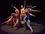 Purdue Repertory Dance Company performing on stage