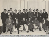 Group portrait of Purdue Club, Bogota, Colombia